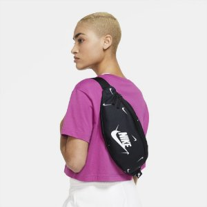Pochete Nike Heritage Unissex-Preto