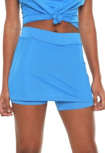 Short Saia Adidas-Azul - Feminino