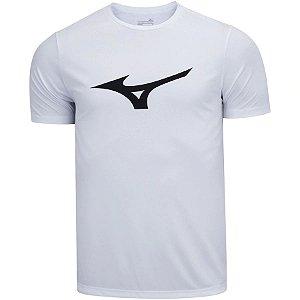 Camiseta Mizuno Spark M Branco-Preto