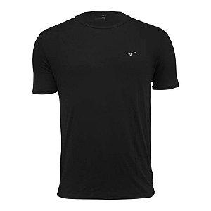 Camiseta Mizuno Masculina Nirvana 2 - Masculino - Preto+Prata