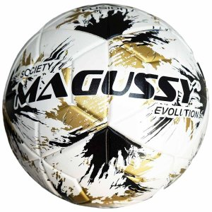Bola Magussy Evolution X-Fusion Society Impermeável - Branco
