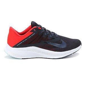 Tênis Nike Quest 3 Masculino - Preto+Vermelho