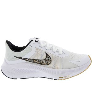 Tênis Nike Feminino Winflo 8 Premium - Branco+Preto