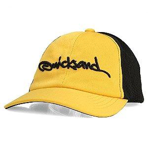 Boné Quicksand Bordado Amarelo-Preto