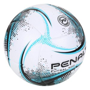 Bola Penalty de Futsal  Rx 500 XXI - Branco+Azul