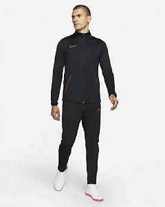Agasalho Nike Masculino Academy Suit Dri-Fit - Preto-Vermelho