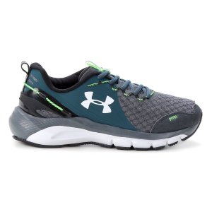 Tênis Under Armour Charged Proud - Cinza+Verde - Masculino
