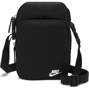 Pochete Nike Heritage Crossbody - Preto
