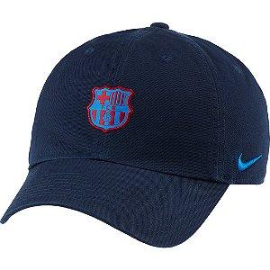 Boné Nike Masculino  Barcelona Aba Curva Strapback Heritage 86