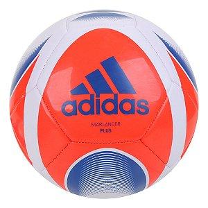 Bola de Futebol Campo Adidas Starlancer Plus - Branco+Vermelho