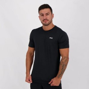 Camiseta Fila Masculino Basic Sports - Preto