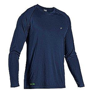 Camiseta Poker Masculino Fator de Proteção UV50+ 04054 Marinho