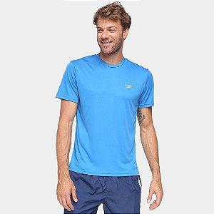 Camiseta Speedo Masculino Interlock  - Azul