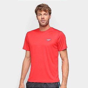 Camiseta Speedo Masculino Interlock  - Vermelho