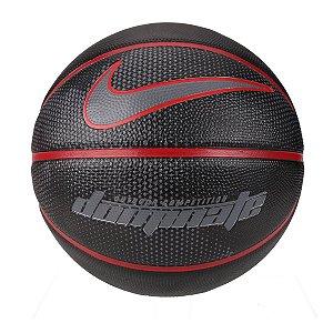 Bola de Basquete Nike Dominate 8P Tam 7 - Preto+Vermelho