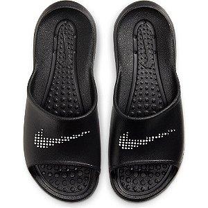Chinelo Slide Nike Shower Feminino - Preto+Branco