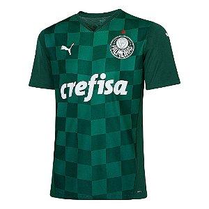 Camisa Palmeiras Masculino I 21/22 s/n° Torcedor Puma- Verde