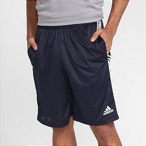 Short Adidas 3S Masculino - Marinho