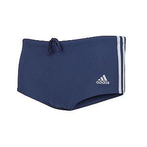 Sunga Adidas 3 Listras Wide - Azul