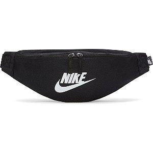 Pochete Nike Heritage Waistpack - Preto+Branco
