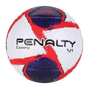 Bola de Futebol Campo Penalty S11 R2 II XXI - Branco+Roxo
