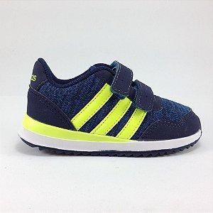 Tenis Adidas V Jog Cmf Azul Inf Masc Ref.:BC0085