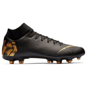 Chuteira Campo Nike Mercurial Superfly 6 Academy - Preto e Dourado AH7362-077
