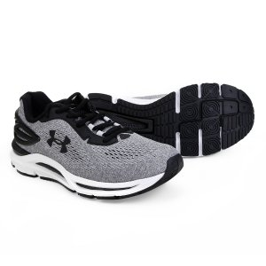 Tênis Under Armour Charged Spread - Cinza e Preto 3023411-100