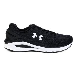 Tênis Under Armour Charged Carbon - Preto e Chumbo 3023412-001