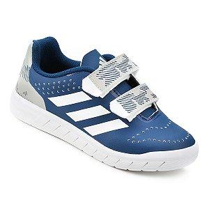 Tênis Infantil Adidas Quicksport Cf C Velcro - Azul