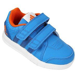 Tênis Adidas LK Trainer CF I Synth Azul/Laranja - AF3967