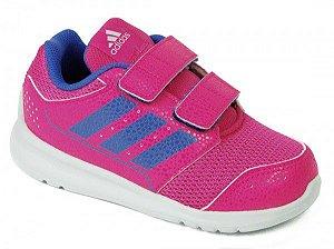 Tênis Adidas Infantill LK Sport 2CF I - Pink/Azul AQ3751