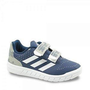 Tênis Masc Infantil Adidas H68498 Quicksport cf c Azul/branco