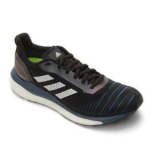Tênis Adidas Solar Drive Boost Masculino - Preto e Marinho D97442