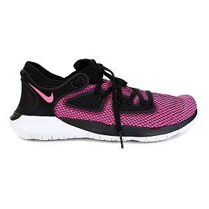 Tênis Nike Flex 2019 Run Feminino - Preto e Pink