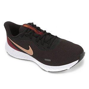 Tênis Nike Revolution 5 Feminino - Preto e Cinza