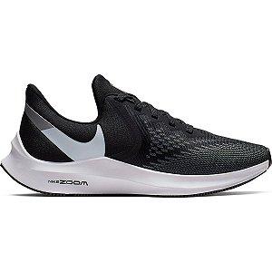 Tênis Nike Zoom Winflo 6 - Preto e Branco - AQ8228-003