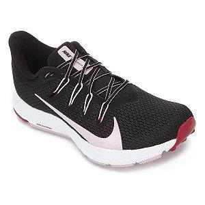 Tênis Nike Quest 2 Feminino - Preto e Vermelho