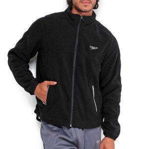Jaqueta Speedo Fleece - Preto