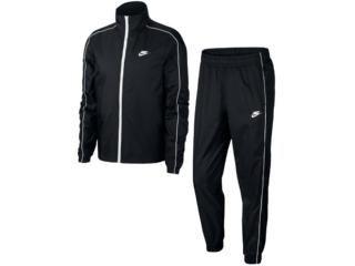 Agasalho Masculino Nike Bv3030-010 Track Suit Basic Preto Branco