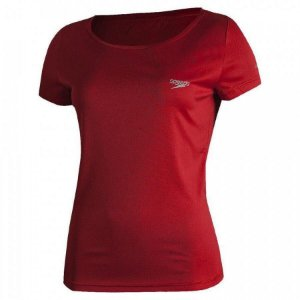 Camiseta Speedo Interlock Canoa - Feminina