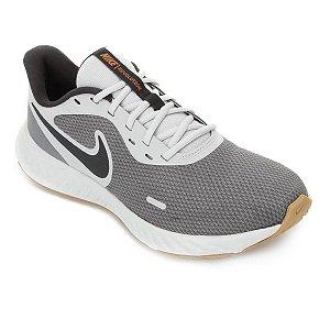 Tênis Nike Revolution 5 Masculino - Cinza