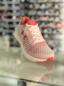 Tênis Corrida Under Armour Charged Impulse Rosa/Laranja/Rosa