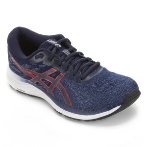 Tênis Asics Gel-Excite 7 Masculino Corrida - Caminhada- Azul