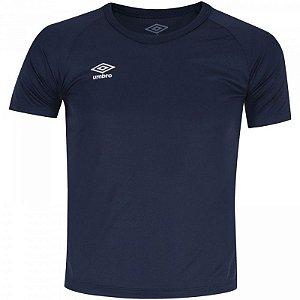 Camiseta Infantil Umbro Trinity - Marinho