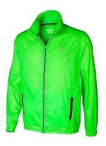 Jaqueta Mizuno Run Fast Masculina - Verde (Corta Vento)
