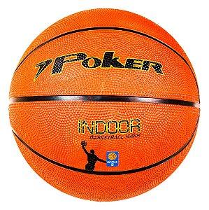 Bola Basquete Poker Oficial Mirim (n.5) Indoor 05783