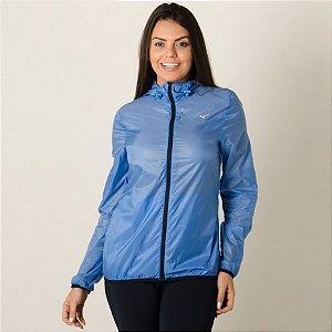 Jaqueta Mizuno Run Fast Feminina - Azul Corta Vento