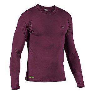 Camisa Fator de Proteção Comfort UV 50+ Poliamida M/L 04126 Bordô