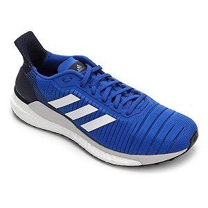 Tênis Adidas Solar Glide Masculino - Azul e Branco F34099